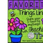 Favorite Things Linky
