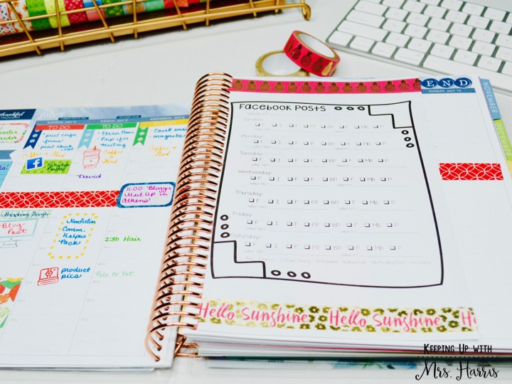 Adding pages to your Erin Condren Planner - How to for a DIY how to add pages to your Erin Condren planners!