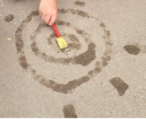 The Art of Evaporation - Science activity for outside the classroom