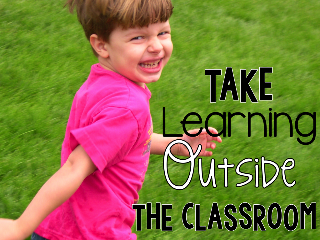 Ideas for Science, Math and ELA outside the classroom.