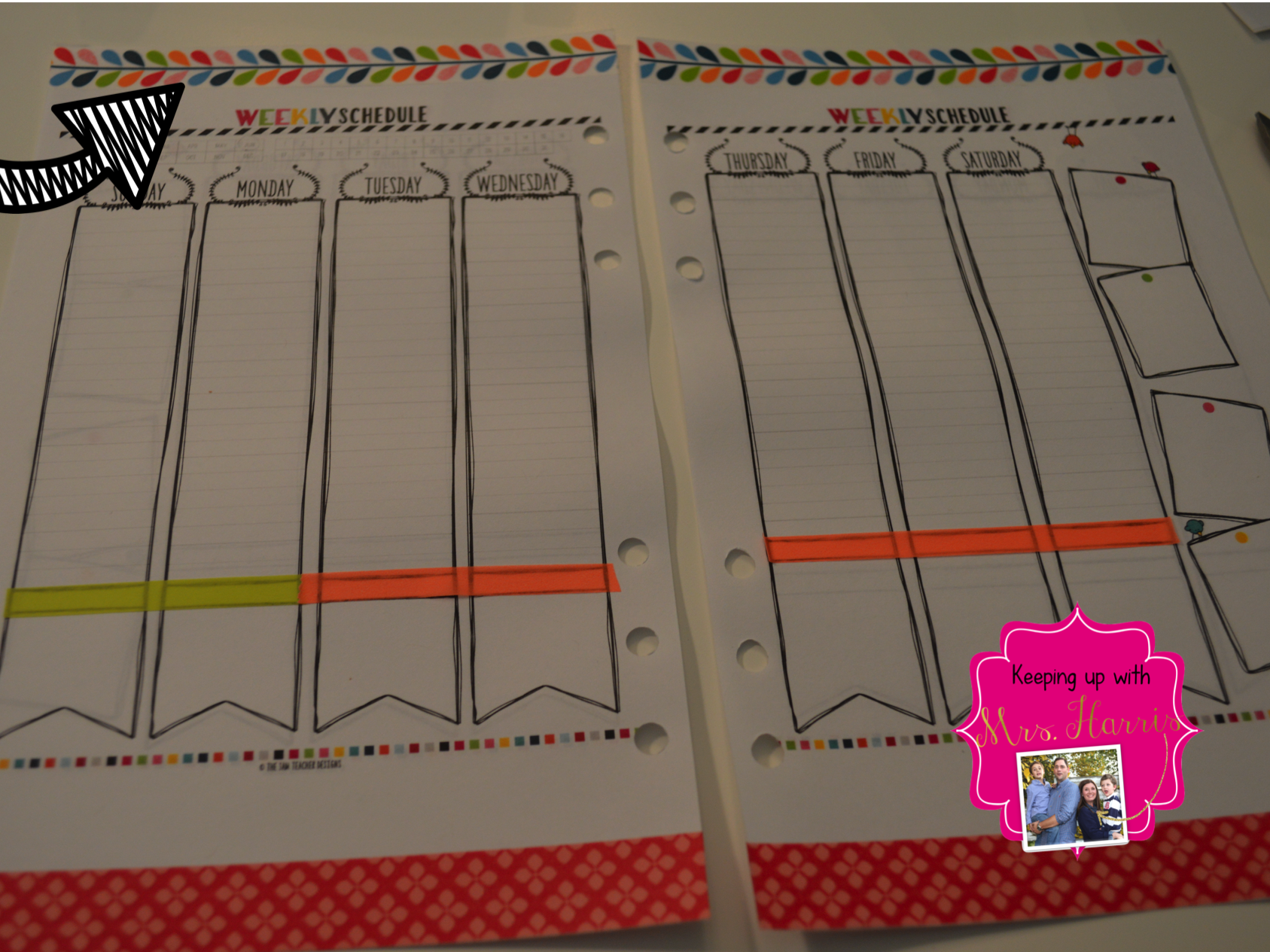 Plan with Me Sundays - Keeping Up with Mrs. Harris