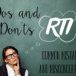 RTI Dos and Don'ts