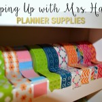 Plan with Me Sundays – Supplies