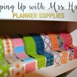 Plan with Me Sundays – Supplies