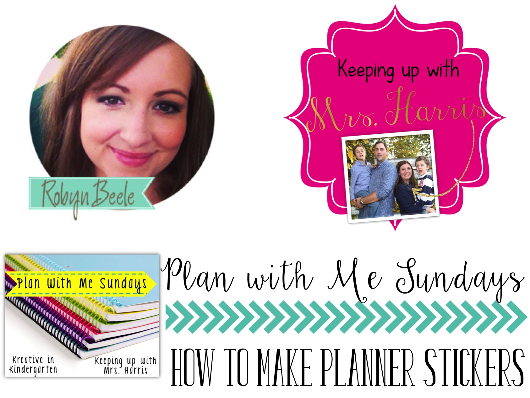 Want to know how to make planner stickers? Take a look! We can have your planner printables ready for your Erin Condren planner. Your planner organization will be envied far and wide!