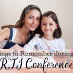 Things to Remember during an RTI Conference