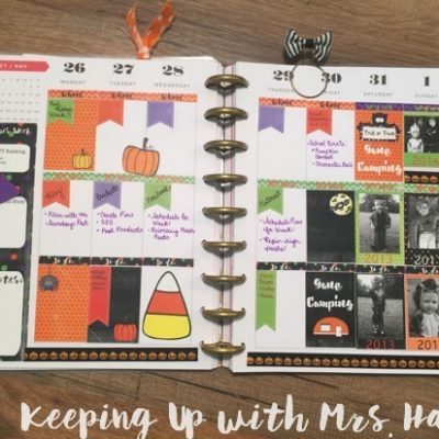 Plan with Me Sundays – Fall Edition