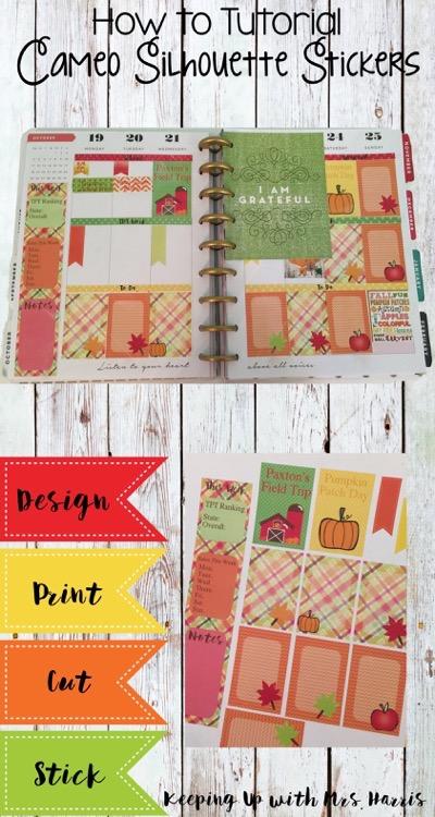 Design, Print, Cut, and Stick