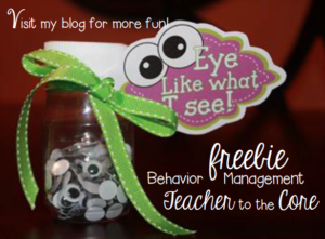 Sharing Sunday - Freebies and tips for behavior management during the spring months.