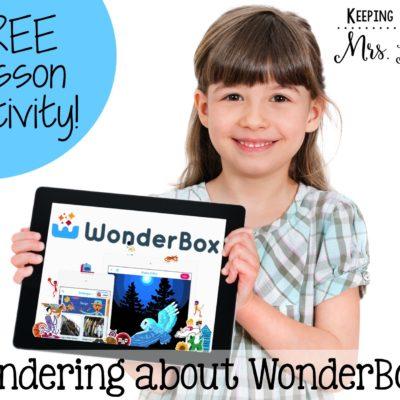 Wondering about WonderBox?