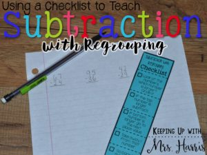 Subtraction with Regrouping is difficult for 2nd graders. Looking for an easy way to teach subtraction with regrouping? Here's your solution!