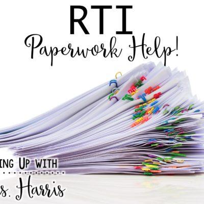 RTI Paperwork Help