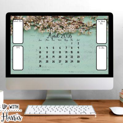 April Desktop 2016