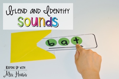 Five ways to use blending cards to teach blending and segmenting. I love #2!