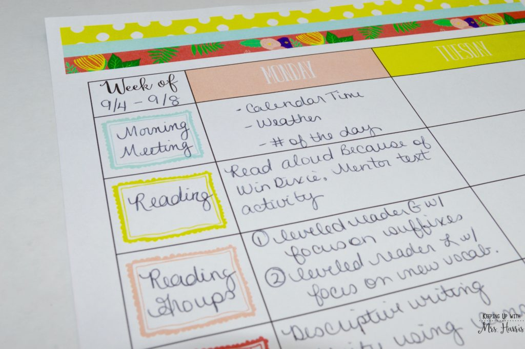 Teacher Planner - Let's get you organized for the new year!