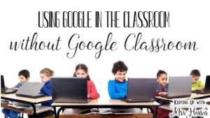 How to use Google without Google Classroom