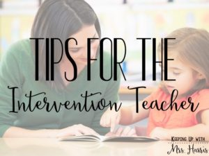 Tips for a Strong Relationship - building a relationship between the classroom teacher and the intervention teacher is important. Here are a few steps to building trust and value between the two positions.