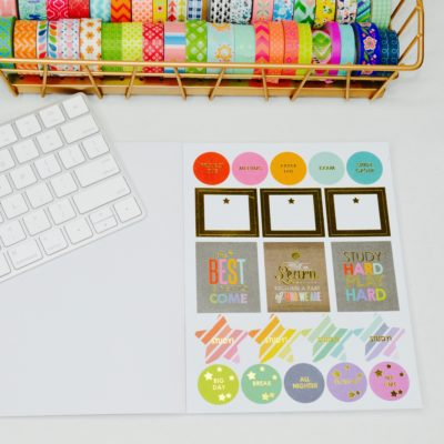 Erin Condren Planner Goodies