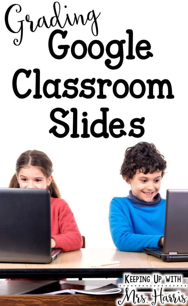 Grading Google Classroom Slides - Using Google Classrooms in your room this year? Learn how I grade my Google Slide activities so that students receive feedback quickly and better understand their mistakes.