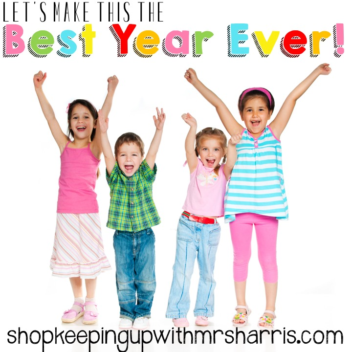 Best year ever! Let me help you start your school year off right with fun and engaging resources and materials for your lessons plans and units.