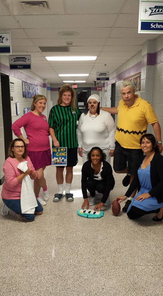 List of Best Ever Grade Level Costumes - Charlie Brown and Gang Teacher Costumes