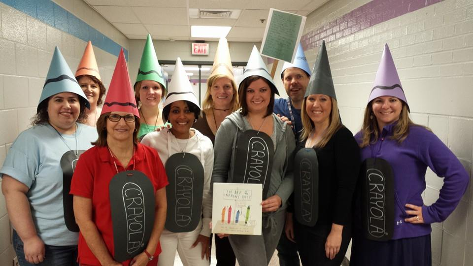 List of Best Ever Grade Level Costumes - Crayons Teacher Costumes