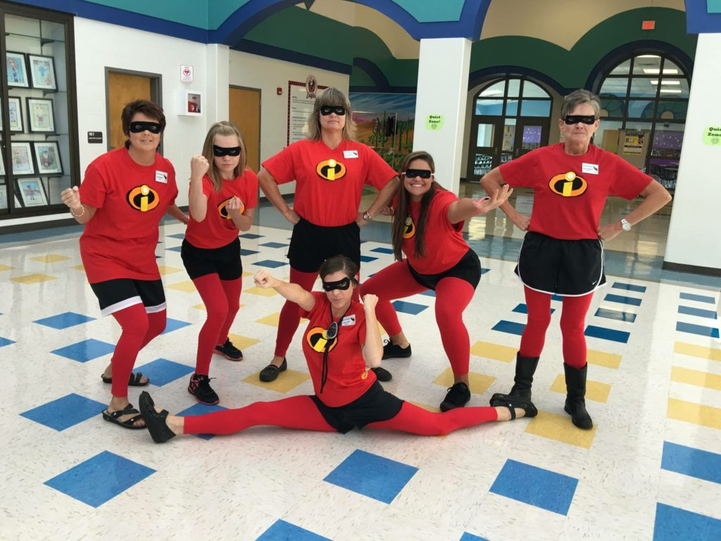 List of Best Ever Grade Level Costumes - Incredibles Teacher Costumes