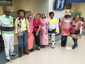 List of Best Ever Grade Level Costumes - Toy Story Teacher Costumes