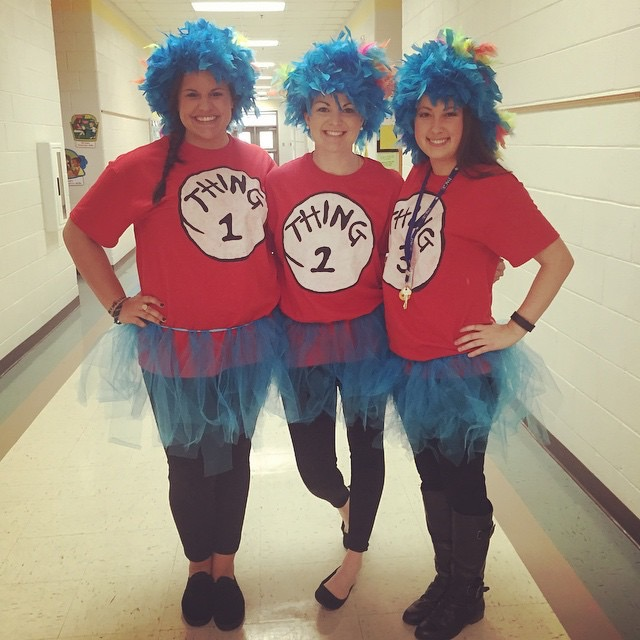 List of Best Ever Grade Level Costumes - Dr. Seuss Teacher Costumes  sc 1 st  Keeping Up with Mrs. Harris & List of Best Ever Grade Level Costumes - Keeping Up with Mrs. Harris