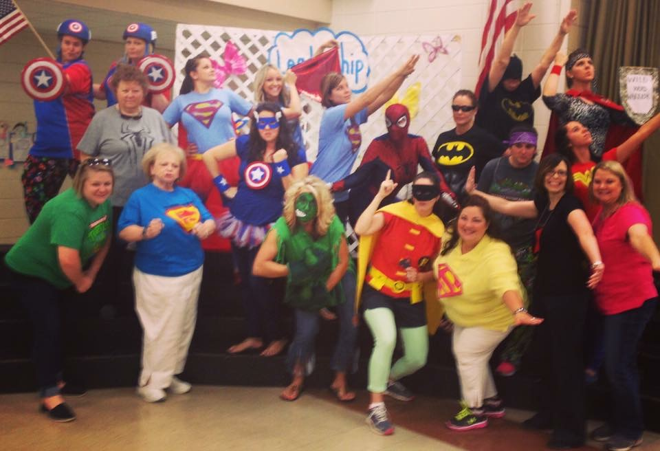 List of Best Ever Grade Level Costumes - Super Hero Theme Teacher Costumes