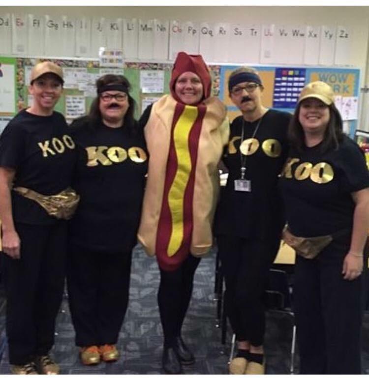 List of Best Ever Grade Level Costumes - Koo Koo Kangaroo from GoNoodle Teacher Costumes