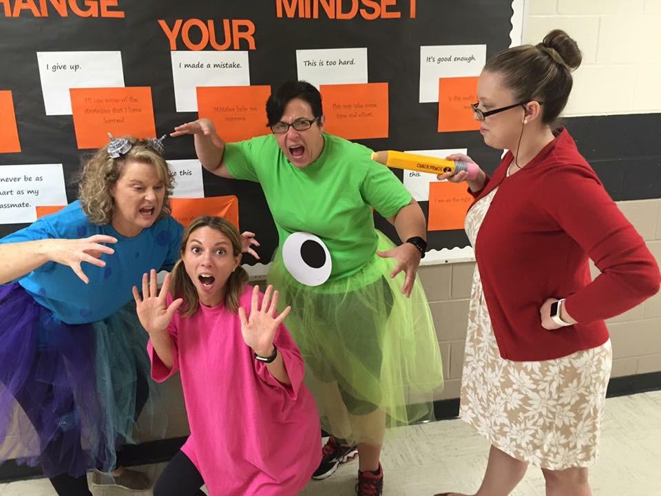 List of Best Ever Grade Level Costumes - Monsters Inc. Teacher Costumes