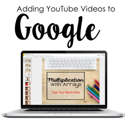 Inserting YouTube with Google Classroom