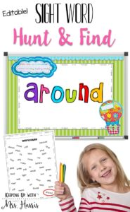 Dreaded Sight Words - want to teach sight words in a way that will stick with your students and make learning fun? I have two fun ways to make those dreaded sight words fun and engaging!
