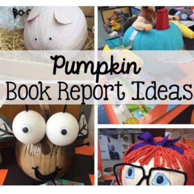 Pumpkin Book Report Ideas