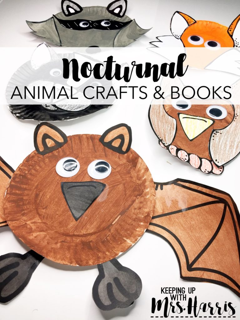 Nocturnal Animal Crafts And Books Keeping Up With Mrs Harris