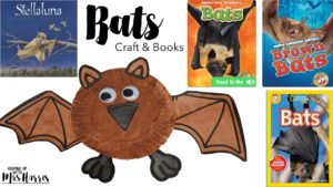 Nocturnal Animal Crafts and Books - Paper plate templates for crafts for your nocturnal animal unit.