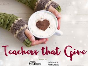 Teachers that Give - $25 Gift Card Blog Hop