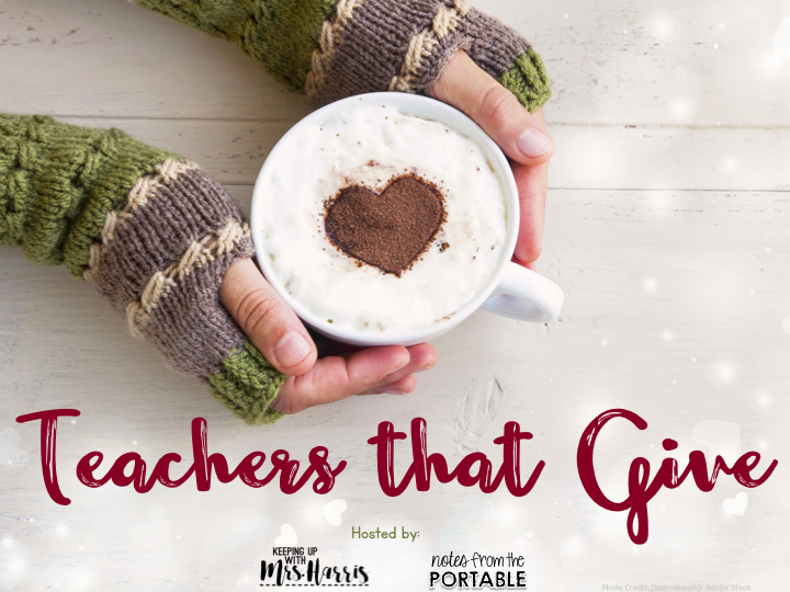 Teachers that Give - $25 Gift Card Blog Hop