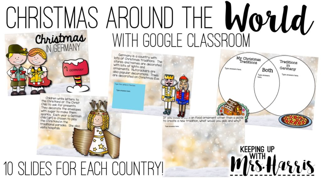 Christmas Around the World with Google Classroom