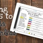 Using iPads to Go Paperless