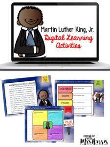 Martin Luther King, Jr. Digital Interactive Notebook Activity
