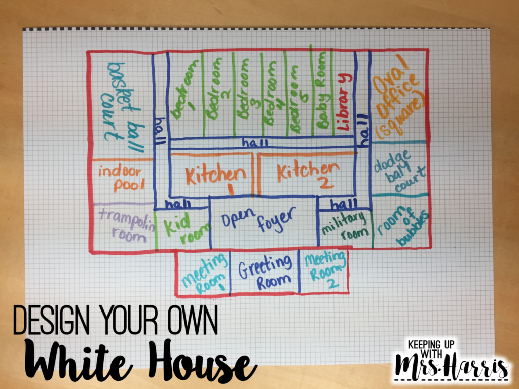 Presidents Day - Design Your Own White House