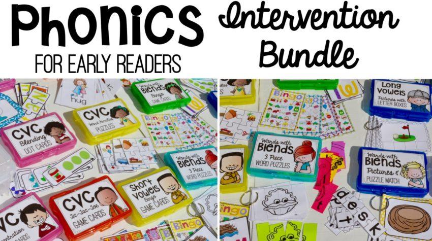 Phonics Lessons, Phonics Activities, Phonics Intervention, Phonics Lessons