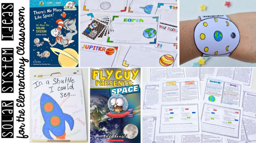 solar system - solar system books - solar system anchor chart - solar system activities - solar system lessons