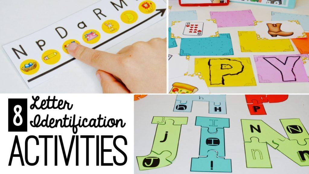 letter recognition - kindergarten phonics - letter practice - initial sounds - letter sounds