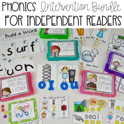 Phonics Interventions for Independent Readers