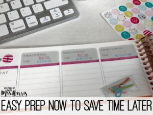 Erin Condren - Erin Condren Teacher Planner - Setting up your Erin condren Teacher Planner
