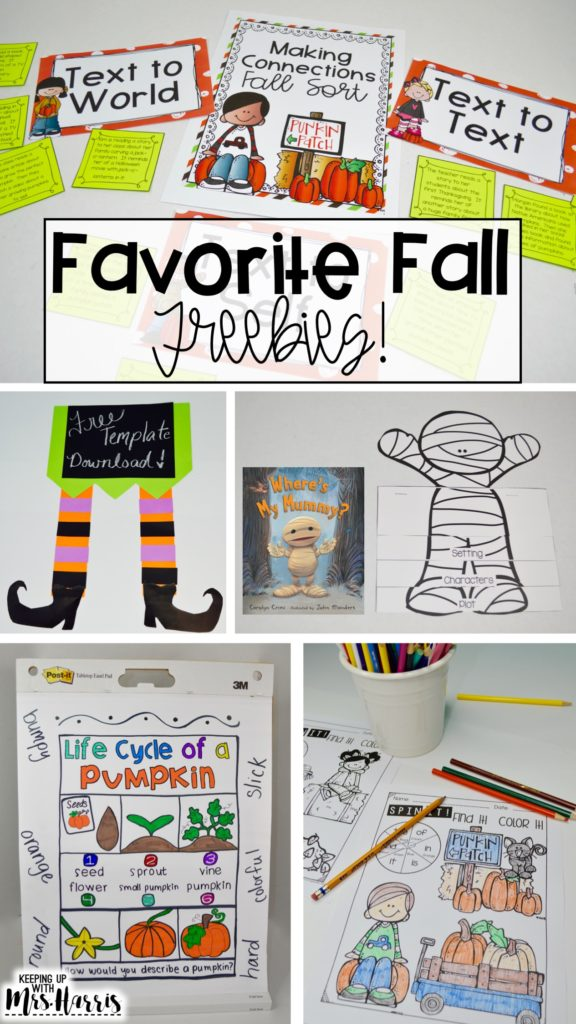 fall freebies - free fall activities - fall lessons - fall activities for the classroom