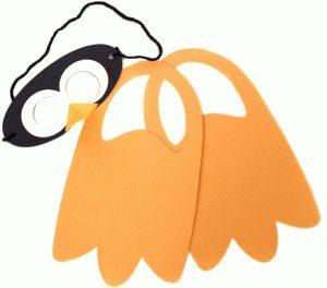 Penguin mask - penguin craft - #penguins #penguincraft